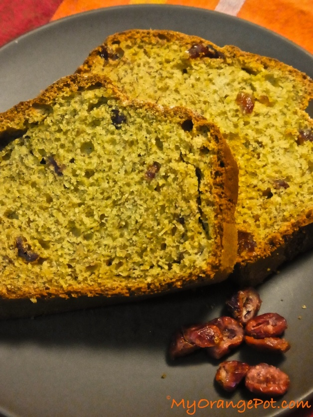 Banana+Cranberry Bread