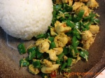 Lawar Ayam ready to be enjoyed with some steamed jasmine rice