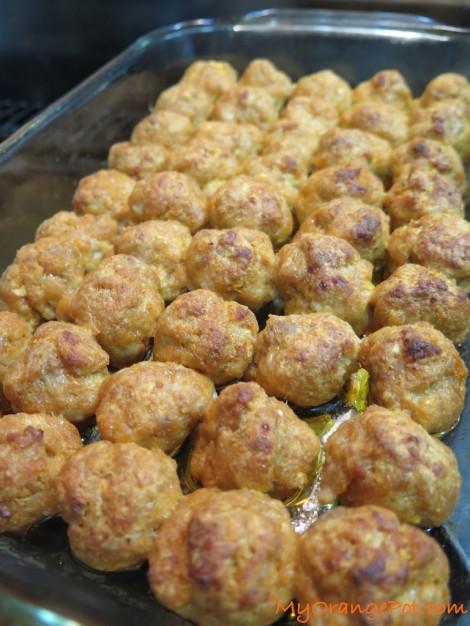 Mini Chicken Buffalo Balls 11