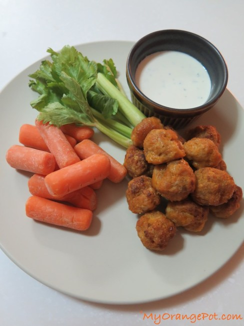 Mini Chicken Buffalo Balls 15