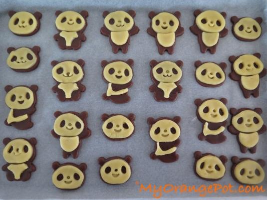 Panda Cookiedough