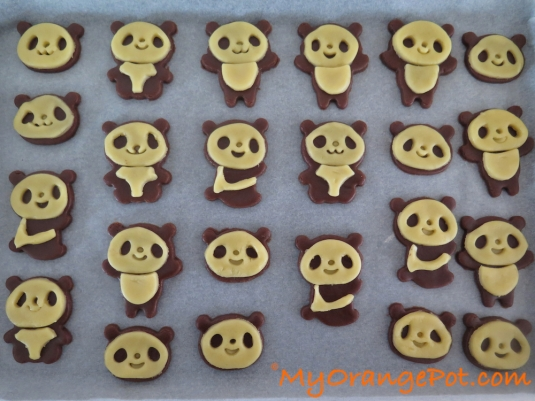 Panda Cookiedough