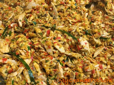 Spicy Shredded Fish Manado Style